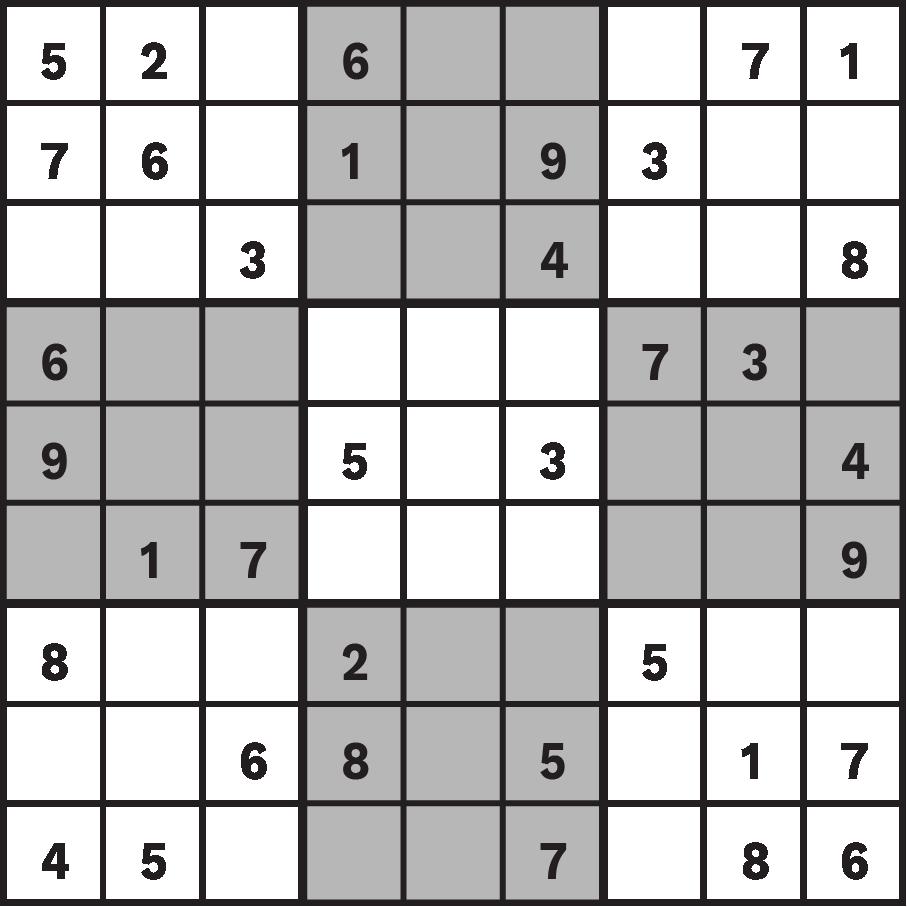 Sudoku, rikudo et autres jeux de chiffres